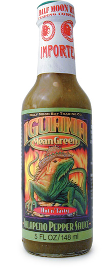 Iguana Mean Green Sauce
