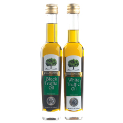 Truffle Oils, White & Black Combo