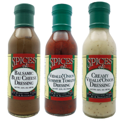 Spices Etc. Salad Dressings - Vidalia Onion Honey Mustard Dressing
