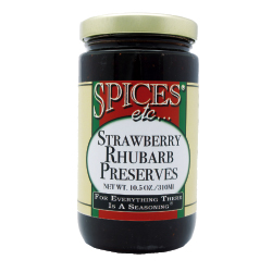 Spices Etc. Strawberry Rhubarb Preserves