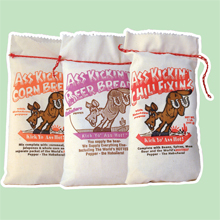 Ass Kickin' Burlap Sacks - Ass Kickin' Chili Fixins'