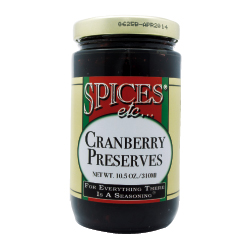 Spices Etc. Cranberry Preserves