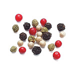 Peppercorns, 4 Mix Blend - Quart (18 oz.)