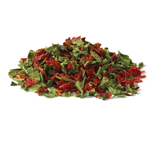 Bell Peppers, Red/Green Mix - Quart (7 oz.)