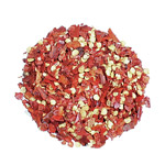 Chile Pepper, Flakes, Crushed Red Pepper - Pint (5.5 oz.)
