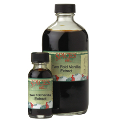 Vanilla Extract, Two Fold - 16 oz.